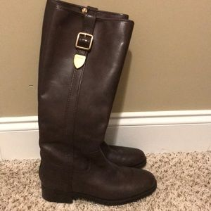 EUC- Worn once Women's Size 7 Coach Leather Boots